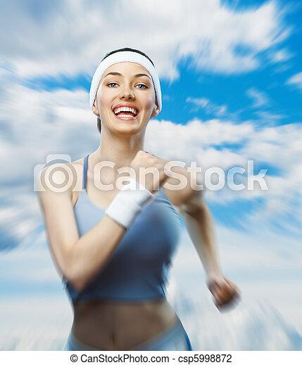 女の子, スポーツ - csp5998872