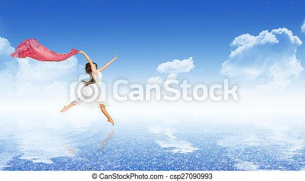 女の子, ダンス - csp27090993