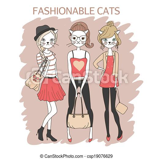 女の子 ネコ ファッション かわいい ファッション 有色人種 女の子