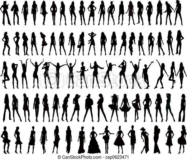 女の子, ファッション - csp0623471