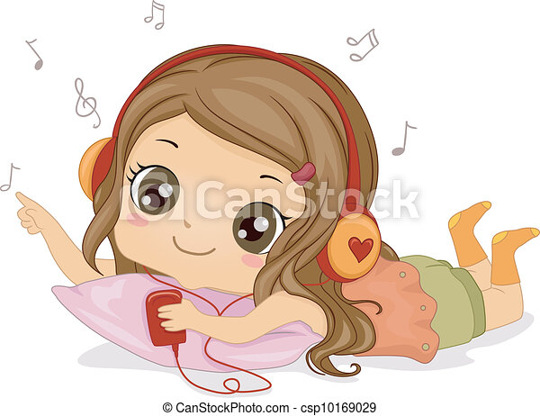 女の子, 音楽 - csp10169029