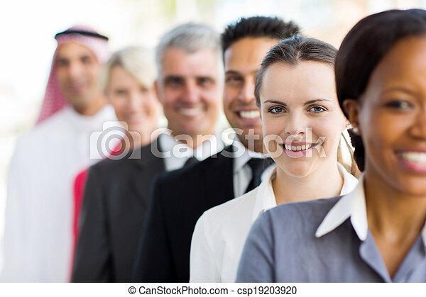 女性実業家, グループ, ビジネス 人々 - csp19203920