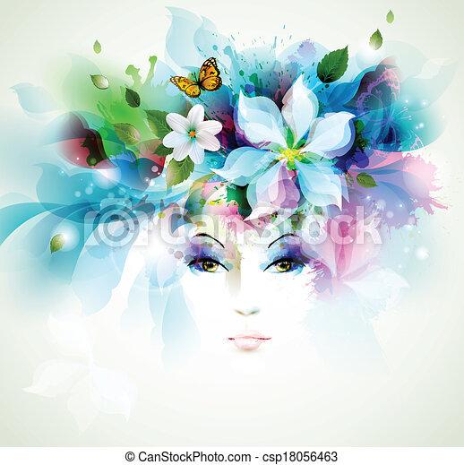 女性, ファッション - csp18056463