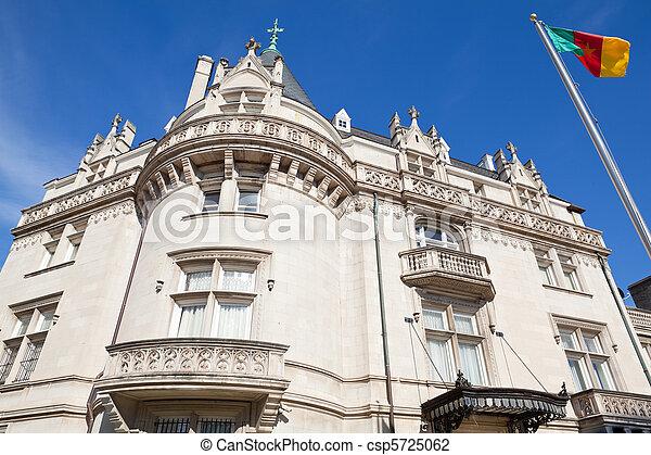女王, washington d.c., victorian, 大使館, anne, カメルーン - csp5725062