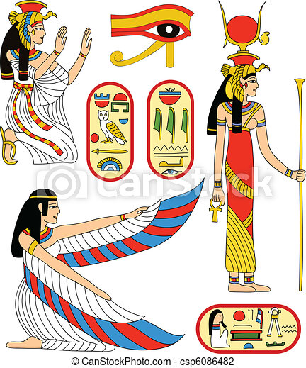 女神, isis, エジプト人 - csp6086482