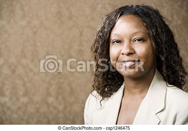 女, かなり, african-american - csp1246475