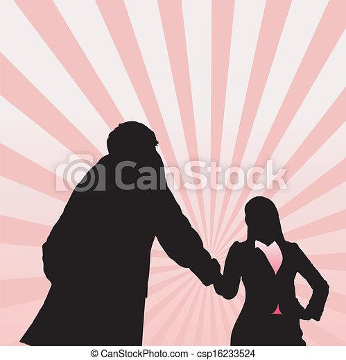 女, 成功, ビジネス - csp16233524