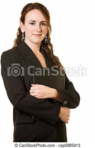 女, 若い, ビジネス - csp0985913
