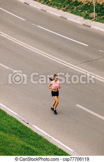 女, 訓練, 通り - csp77706119