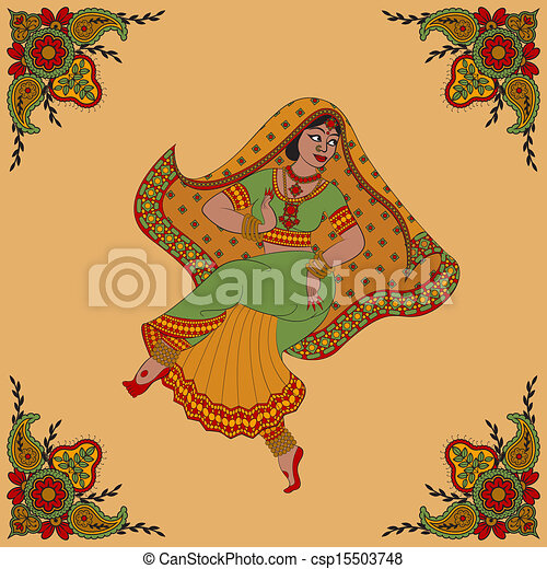 女, indian - csp15503748