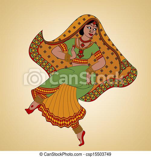 女, indian - csp15503749
