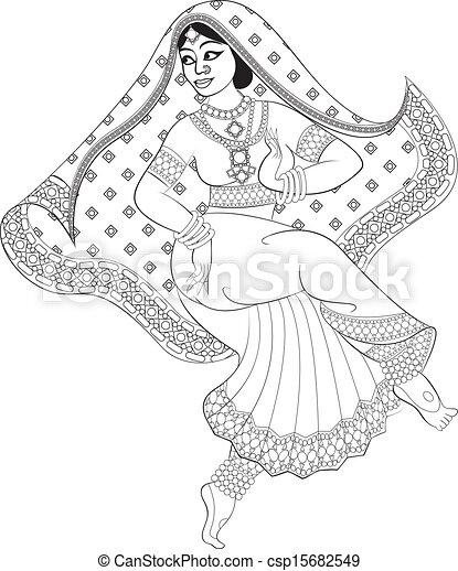 女, indian - csp15682549