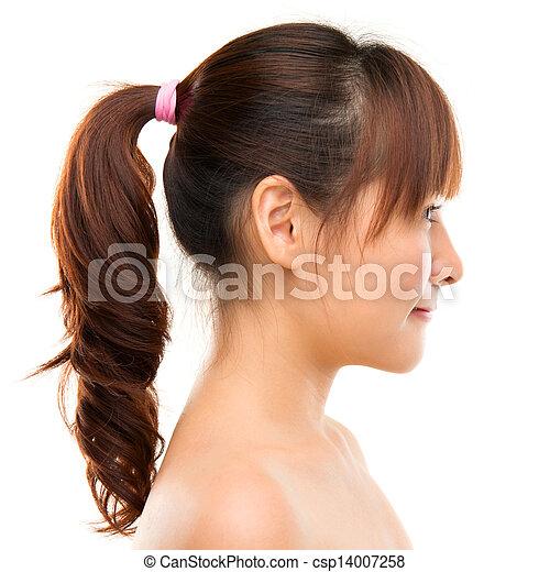 女, profile., アジア人 - csp14007258