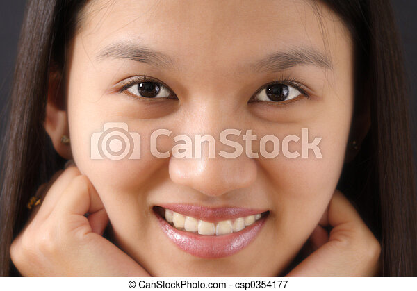 妇女脸 - csp0354177