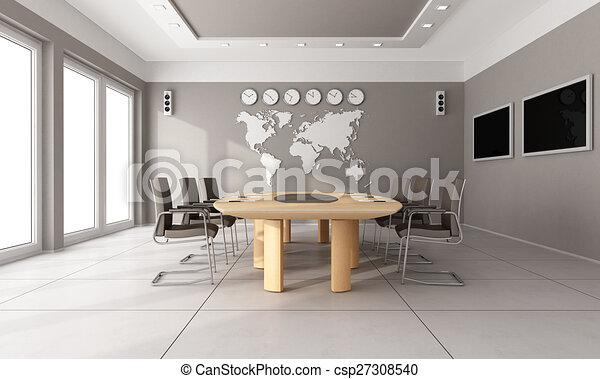委員会部屋, 現代 - csp27308540