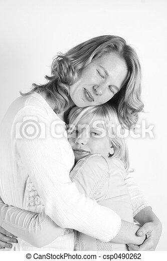 娘, 母 - csp0490262