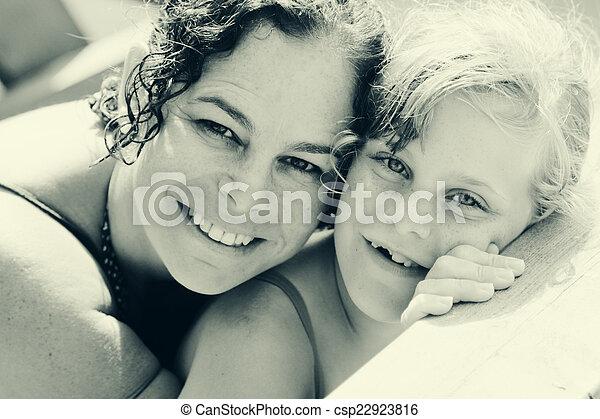 娘, 母 - csp22923816