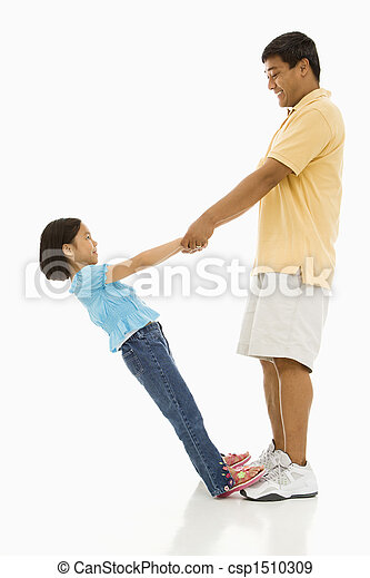 娘, father. - csp1510309