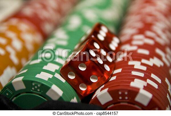 娱乐场, 赌博, 以联机方式 - csp8544157