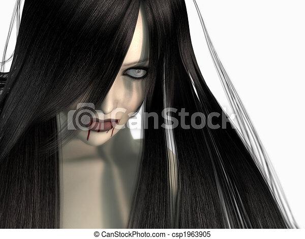 婦女, 吸血鬼 - csp1963905