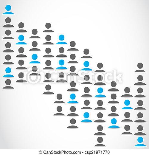 媒体, グループ, ネットワーク, 社会 - csp21971770