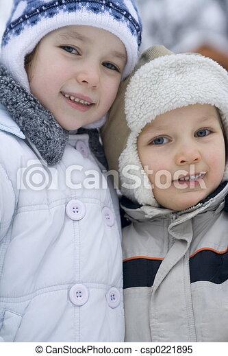 子供, 幸せ - csp0221895