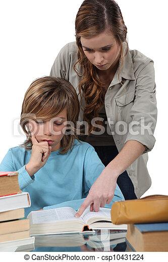 学校教師 - csp10431224