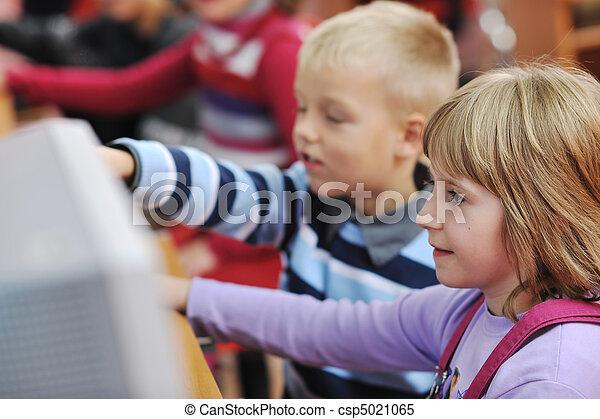 学校, 教育, それ, 子供 - csp5021065
