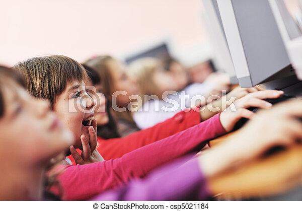 学校, 教育, それ, 子供 - csp5021184