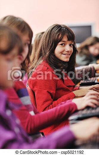 学校, 教育, それ, 子供 - csp5021192