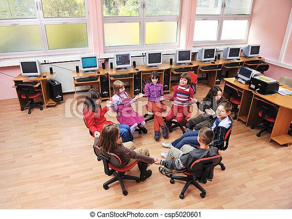 学校, 教育, それ, 子供 - csp5020601