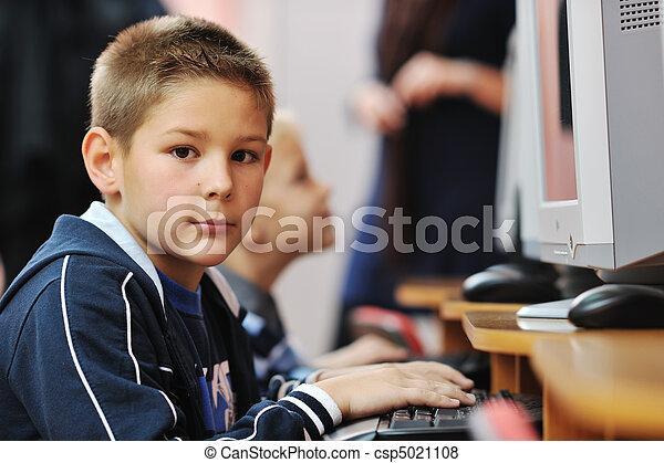 学校, 教育, それ, 子供 - csp5021108