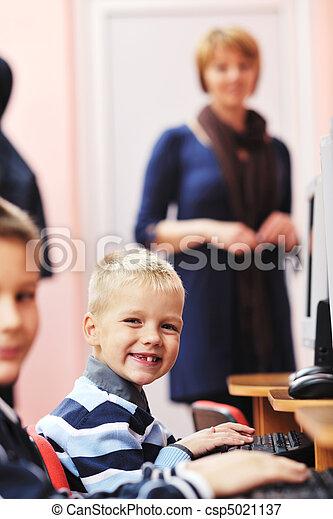 学校, 教育, それ, 子供 - csp5021137