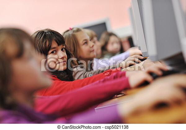 学校, 教育, それ, 子供 - csp5021138