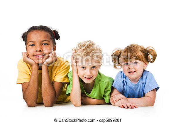 孩子, 行 - csp5099201