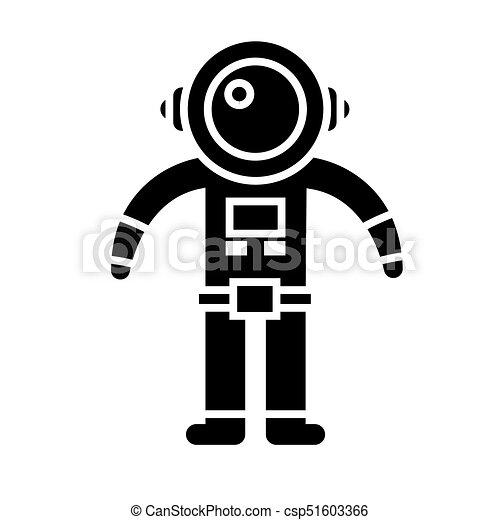 宇宙人 イラスト 隔離された 印 ベクトル 黒い背景 アイコン 宇宙