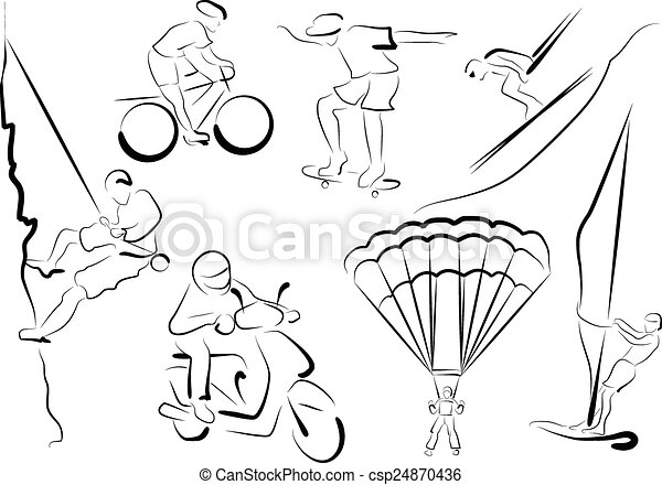 定型, スポーツマン, -, 極点 - csp24870436