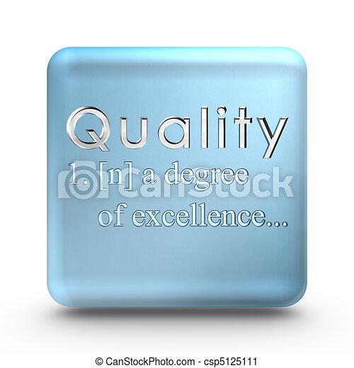 定義, 品質, アイコン - csp5125111