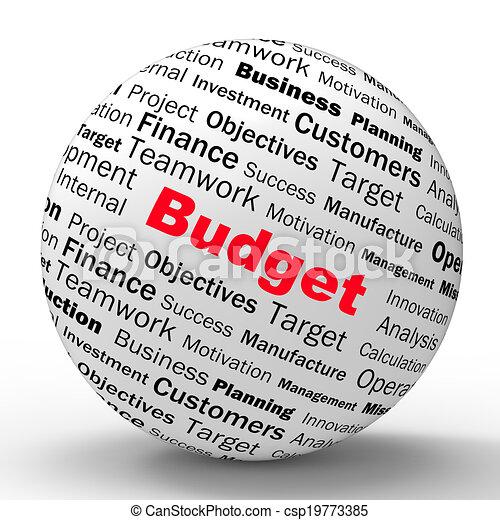定義, 管理, 財政, ビジネス, 予算, 球, ∥あるいは∥, ショー - csp19773385
