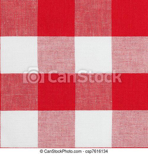 実質, ギンガムパターン, seamless, 伝統的である, モデリング, テーブルクロス, suitable, 3d - csp7616134