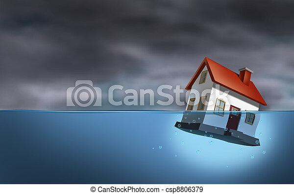 実質, 危機, 財産 - csp8806379