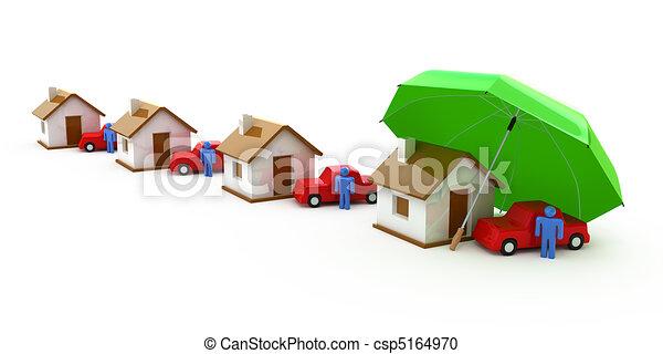 家の 保険 - csp5164970