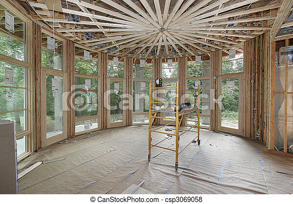 家の 構造, 贅沢, 下に - csp3069058