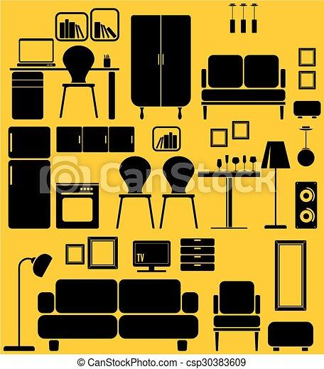 家具 - csp30383609