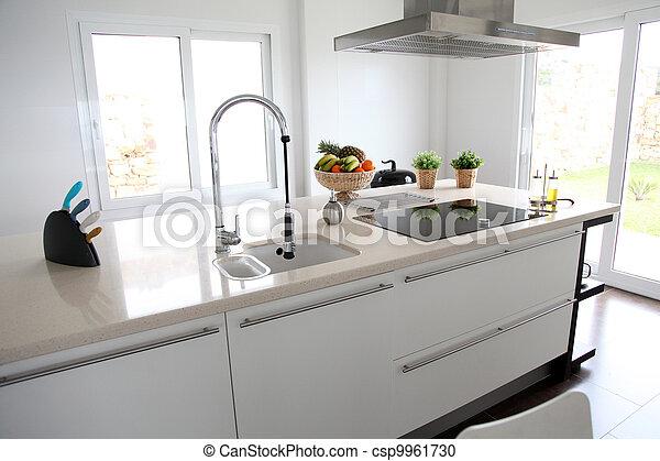 家廚房, 看法, 當代, 一般 - csp9961730