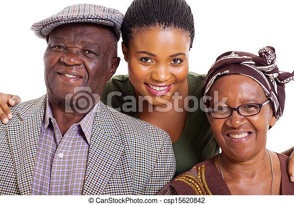 家族, アフリカ - csp15620842