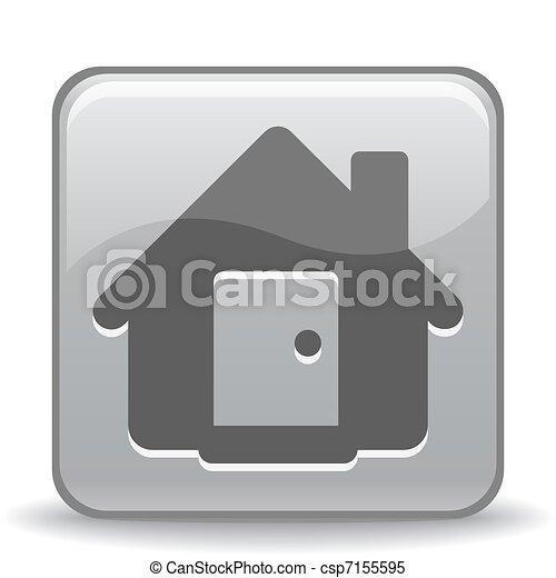 家, アイコン - csp7155595