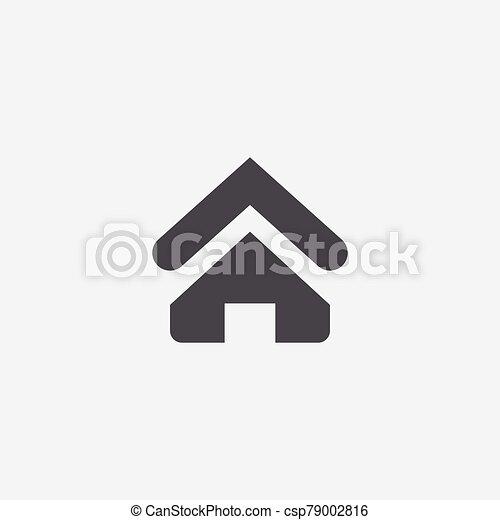 家, アイコン - csp79002816