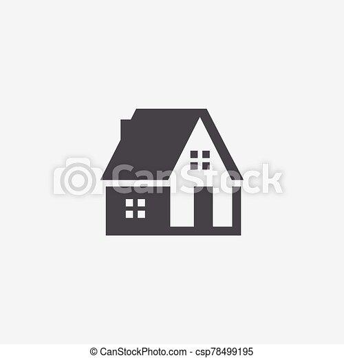 家, アイコン - csp78499195