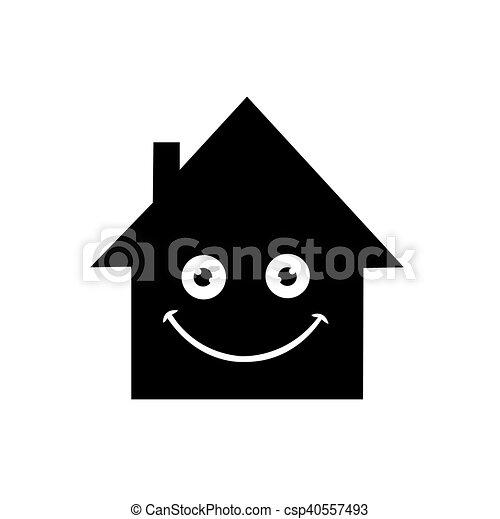 家, ベクトル, アイコン - csp40557493